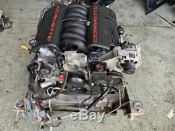 01 CORVETTE C5 LS1 ENGINE ASSEMBLY 80k miles
