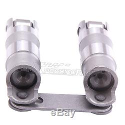 16 Hydraulic Roller Link Bar Lifters For Small Block Chevy SBC 350 265-400 Sales