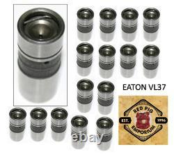 16 Premium Eaton Hydraulic Lifters Small Block Chevy 283 305 327 350 400 VL-37