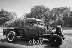 1940 chevy pick truck rat rod hotrod with Ct400 small block engine 400bhp