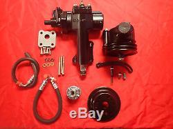 1955 1956 1957 Chevrolet Power Steering Conversion Small Block Side Motor Mount
