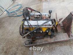 1956 Chevrolet V8 265 4.3 Litre Small Block Complete Engine 3720991 F56f