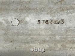 1959 66 Corvette 283 327 factory aluminum finned valve covers no casting flaw