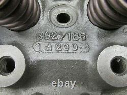 1969 1970 Small Block Chevy SBC Z28 LT1 302 350 2.02 Heads 3927186 Jan. 1970 186