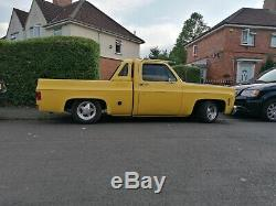 1976 Chevrolet c10, pickup, classic car, f100, hot rod, American 350 small block