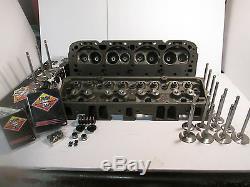 2.02 1.6 Small Block Chevy 76 CC GM HEADS IMCA Claimer, SS Camaro 350 PR
