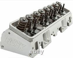 2 FloTek Small Block Chevy 180cc/64cc complete cylinder heads