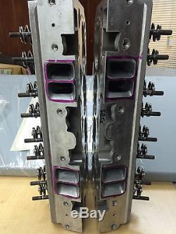 350-5 7 (2) Chevy Aluminum Corvette Lt1 Cylinder Heads