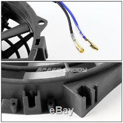 3-ROW ALUMINUM RACING RADIATOR+2 X 12 FAN 73-80 CHEVY SMALL BLOCK SBC CAR l6/V8