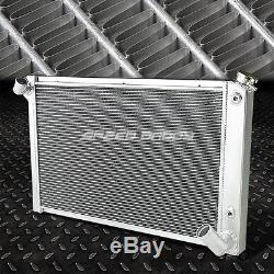 3-row Aluminum Racing Radiator 68-82 Chevy Small Block Corvette 5.0 5.7-7.4 V8