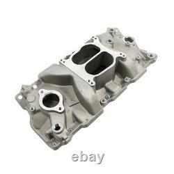 55-95 SBC Chevy Dual Plane Aluminum Intake Manifold 283 305 327 350 Small Block