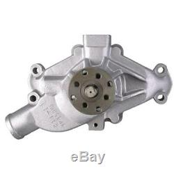 AFCO 80090 Small Block Chevy SBC 350 High Volume Short Race Water Pump, 5/8