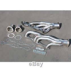 A/f/g Body Stainless Steel Clipster Header Exhaust For 64-88 Small Block V8
