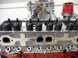 Aluminium Cylinder Heads Sbc Chev 180cc Runner Complete + Studs & Guide Plates