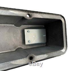 Ansen Small Block Chevy SBC Tall 383 STROKER Laser Engraved Black Valve Covers