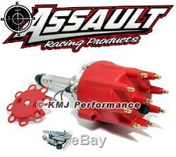 Assault Racing Small & Big Block Chevy V8 Pro Billet Distributor SBC BBC 350 454
