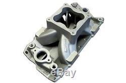 BMP 061050 Small Block Chevy Aluminum Intake Manifold 4500 Carb Flange SBC USA
