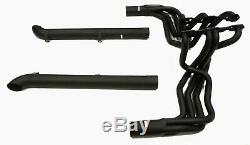 Black Maximizer Header Fit 1963-67 Corvette C2 & 1965-82 Corvette C3 Stingray SB