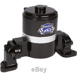 Black Small Block Chevy Electric Water Pump 350 EWP SBC High Volume Flow