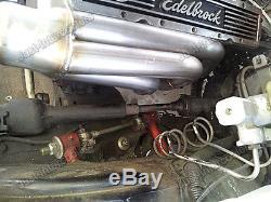 CXRacing Turbo Manifold Header + Vband Elbow T3 for Chevrolet Small Block SBC