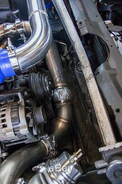 CX Turbo Kit For 82-92 Chevrolet Camaro SBC Small Block Header Manifold