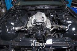 CX Twin Turbo Header Manifold Kit For 82-92 Camaro SBC Small Block