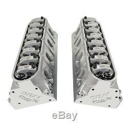 Cbm Motorsports Pro-x Cnc Ported 6 Bolt Ls3 Ls7 Cylinder Heads Jesel Rockers