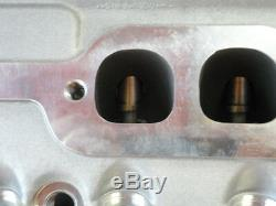 Chev Sbc Alloy Cylinder Heads 200cc Runner Complete + Studs & Guide Plates