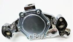 Chev Small Block Sbc Water Pump Chromed Alloy Short Pump Sbc 283-327-350-400