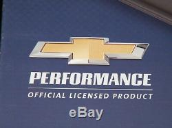 Chevrolet SBC Black Valve Covers Finned Chevrolet Script Aluminum 283 327 350