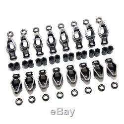 Chevy Roller Tip Rocker Arms SBC Small Block 305 350 400 1.5 Ratio 3/8 Polylocks