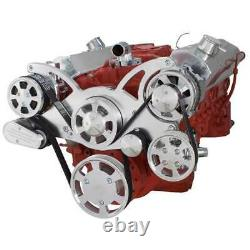 Chevy Small Block All Inclusive Serpentine System SBC 283 350 383 400 AC PS ALT