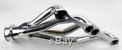 Chevy Small Block SB V8 Stainless Steel Headers 262 265 283 305 327 350 400