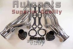 Chevy Small Block Shorty Headers Ceramic 283-302-305-307-327-350-400