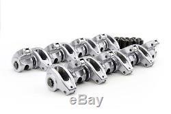 Comp Cams 17001-16 1.5 3/8 Aluminum Rooler Rocker Arms for Chevrolet SBC 350