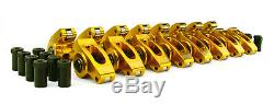 Comp Cams 19001-16 1.5 3/8 Aluminum Roller Rocker Arms Set for Chevrolet SBC