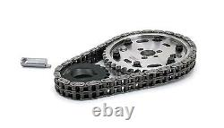 Comp Cams 8100 Adj Billet Double Roller Timing Set for Chevrolet SBC 327 350 5.7