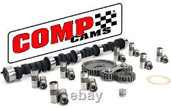 Comp Cams GK12-600-4 Thumpr Camshaft Kit with Gear Drive Chevrolet SBC 350 5.7