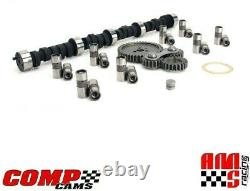 Comp Cams Magnum Camshaft Kit with Gear Drive for Chevrolet SBC 350 400.501 Lift