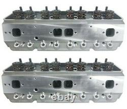 Complete CNC Ported Aluminum Cylinder Heads Small Block Chevy. 660 Lift Roller