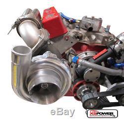 DUAL Turbo Headers Small Block Chevy SBC 350 400 CAMARO