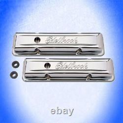 EDELBROCK VENTILDECKEL CHROM Chevy Small Block 350 4.6 5.0 5.4 5.7 6.6 L 4449