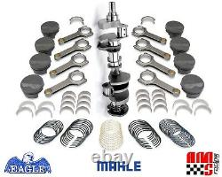 Eagle Forged Stroker Rotating Assembly with 6.000 Rod / Mahle Pistons Chevy 383
