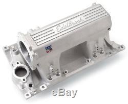 EdelBrock 7138 Aluminum Intake EFI Pro-Flo XT SBC Small Block Chevy Vortec Heads