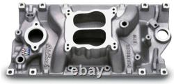 Edelbrock 2116 Small Block Chevy Vortec Intake Manifold Dual Plane 350 400 V8