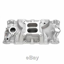 Edelbrock 2701 Performer EPS Intake Manifold SBC Chevy 305 350 383 IMCA Legal