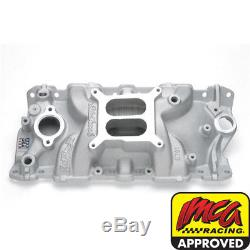 Edelbrock 2701 Performer EPS SBC 350 Small Block Chevy Intake Manifold IMCA