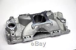 Edelbrock 29785 Victor E EFI Intake Manifold & Fuel Rails Small Block Chevy SBC