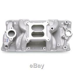 Edelbrock 7501 Performer RPM Air-Gap Small Block Chevy SBC 350 Intake Manifold