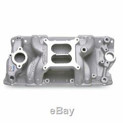 Edelbrock 7501 Rpm Air-Gap Intake Manifold 1955-86 Small Block Chevy 262-400